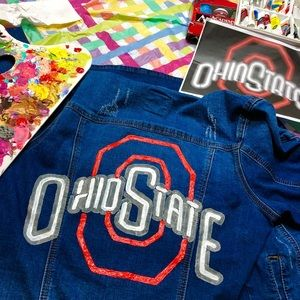 Jackets & Blazers - 🔥CUSTOM Hand-Painted Denim Jacket: made 2 order